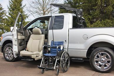 Turn Out Seat By Bruno Handicap Truck Adaptive
