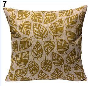Vintage geometrische Baumwolle Leinen Throw Pillow Cover