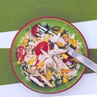 Een heerlijk recept: Rijstsalade met kip