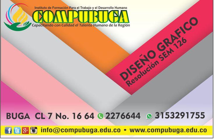 COMPUBUGA  Inicia el 2018 cumpliendo metas!!! Te invitamos a compubuga ven y conoce nuestras carreras técnicas laborales,diplomados y cursos en sistemas. Aprovecha esta gran oportunidad. compramos en buga, confiamos en lo nuestro! #compubuga #calidad #educación #compramosenbuga #técnicos #diplomados #confiamosenlonuestro #cursos #oportunidades #buga #diseño #arte #color