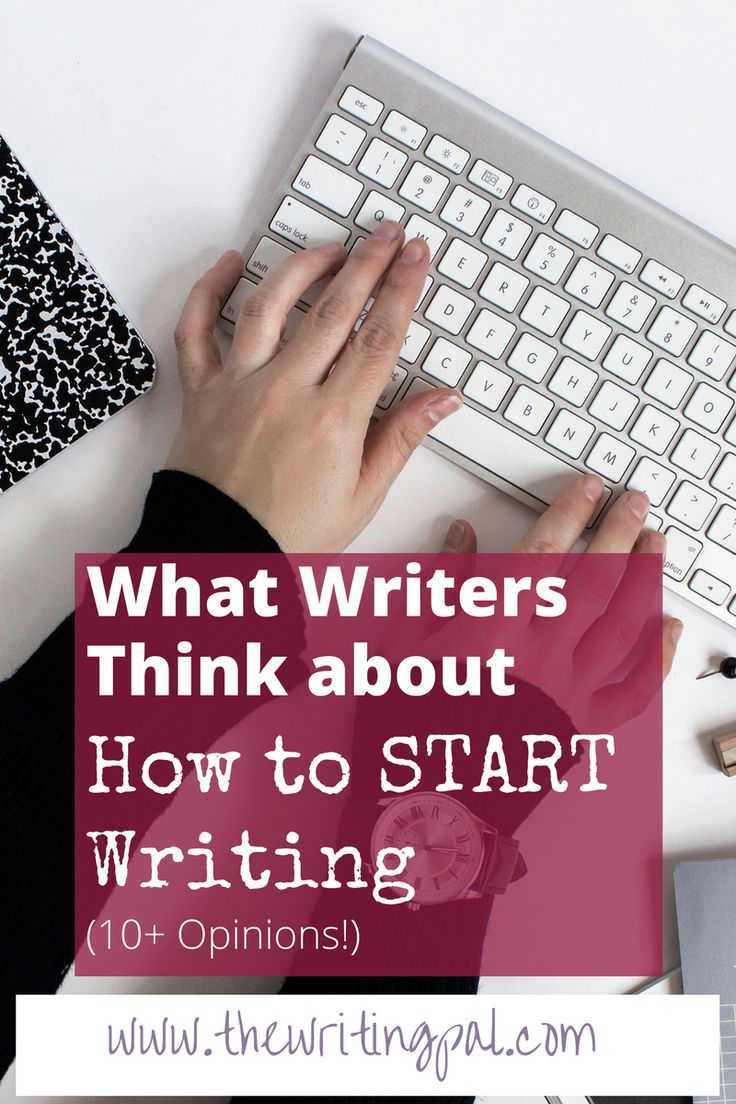 How to start writing is one of the hardest parts of the writing process. There are so many different ways to start writing. Click to learn the best way for you to start writing.