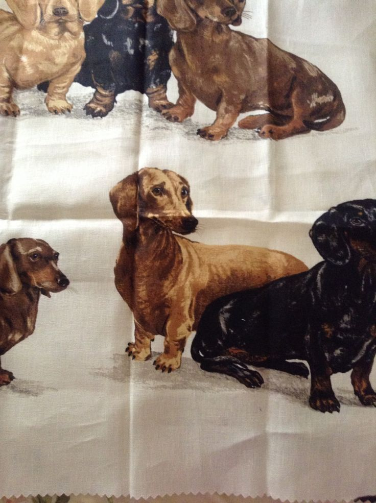 Dotson dog fabric by kravet. Design by Barclay Butera by FrenchCountryGirl on Etsy