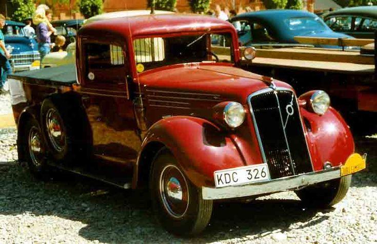 Volvo PV51 TV Pickup 1938