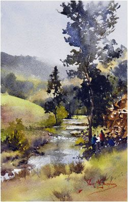 alvaro castagnet painter | Highly Commended in Watercolour open Section Art in the Village Aevum ...