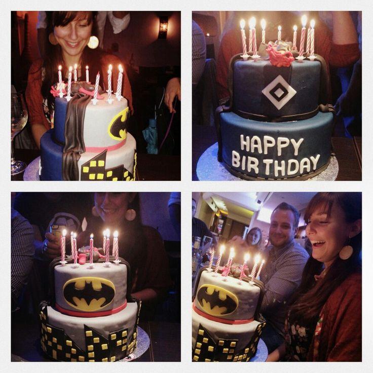 Batman HSV Torte