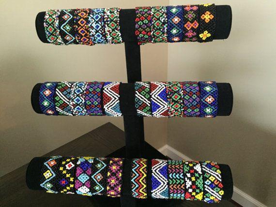 5 estiramiento pulseras nativo americano estilo por CreativeBeads4U