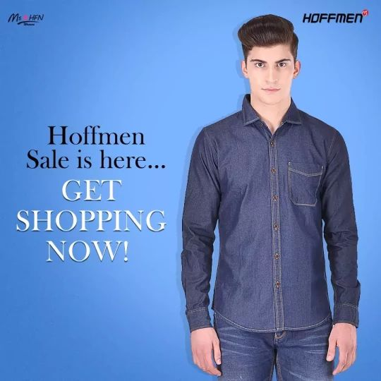 Grab your favourite apparel at discounted price. #EndOfSeasonSale #HoffmenSale Shop here: https://hoffmenonline.com/