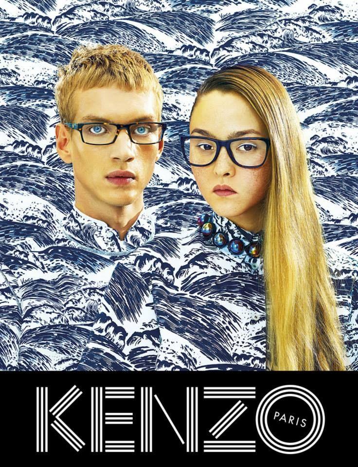 KENZO Spring-Summer 2014 Campaign by TOILETPAPER. #devonaioki