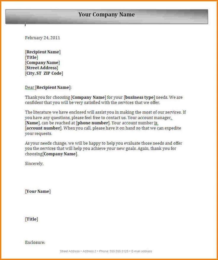 Block Letter Format With Letterhead Full Spacing Semi Pdf