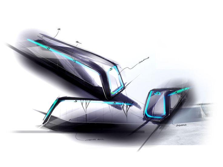 BMW DesignWorksUSA Metro Inspiro Sketch