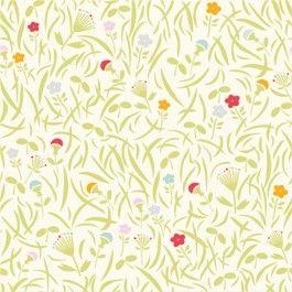 Grassy Meadow - Yay Day - Birch Organic Fabrics