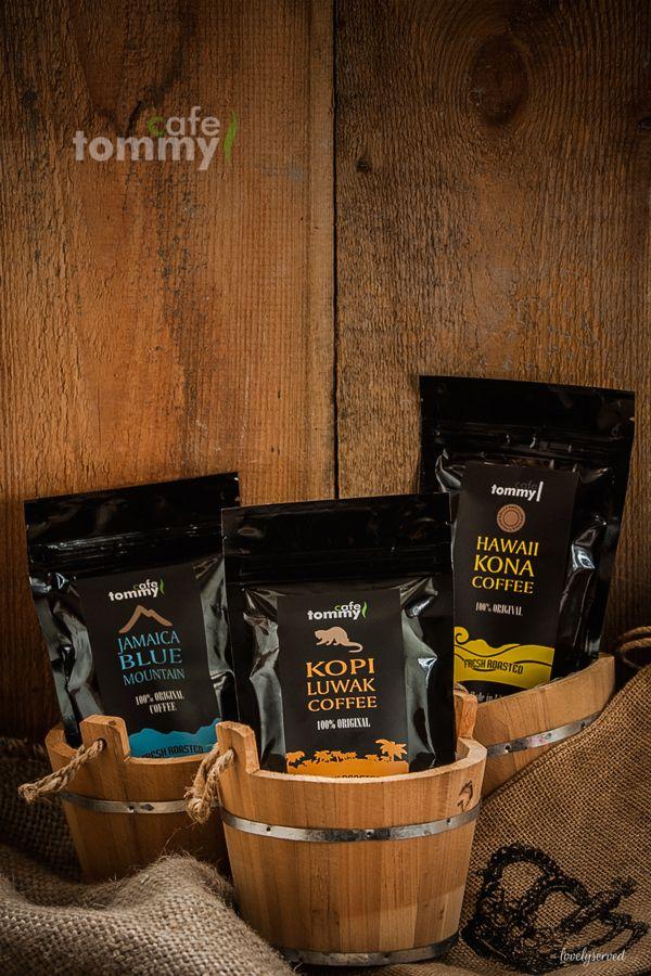 Kopi Luwak, Jamaica Blue Mountain, Hawaii Kona - best coffee in the world, more on lovelyserved.blogspot.com