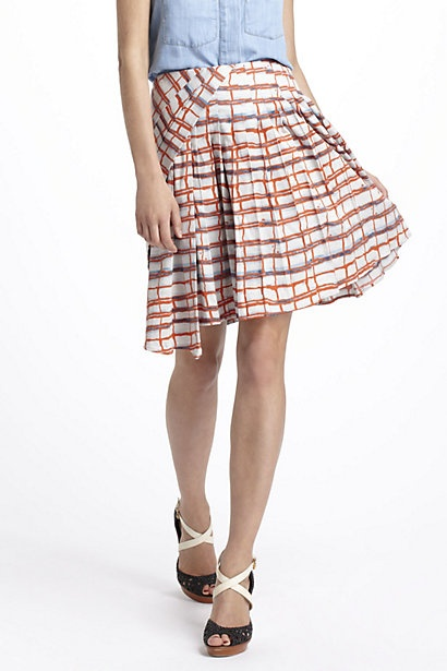 Imprecise Graph Skirt #anthropologie