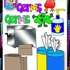 Included in this graphic set are images used to talk about germs, washing hands, using hand sanitizer, etc..  You'll find all you'll need to create...