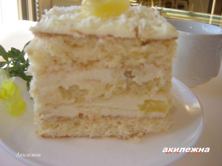 рецепты ананасовых тортов с фото