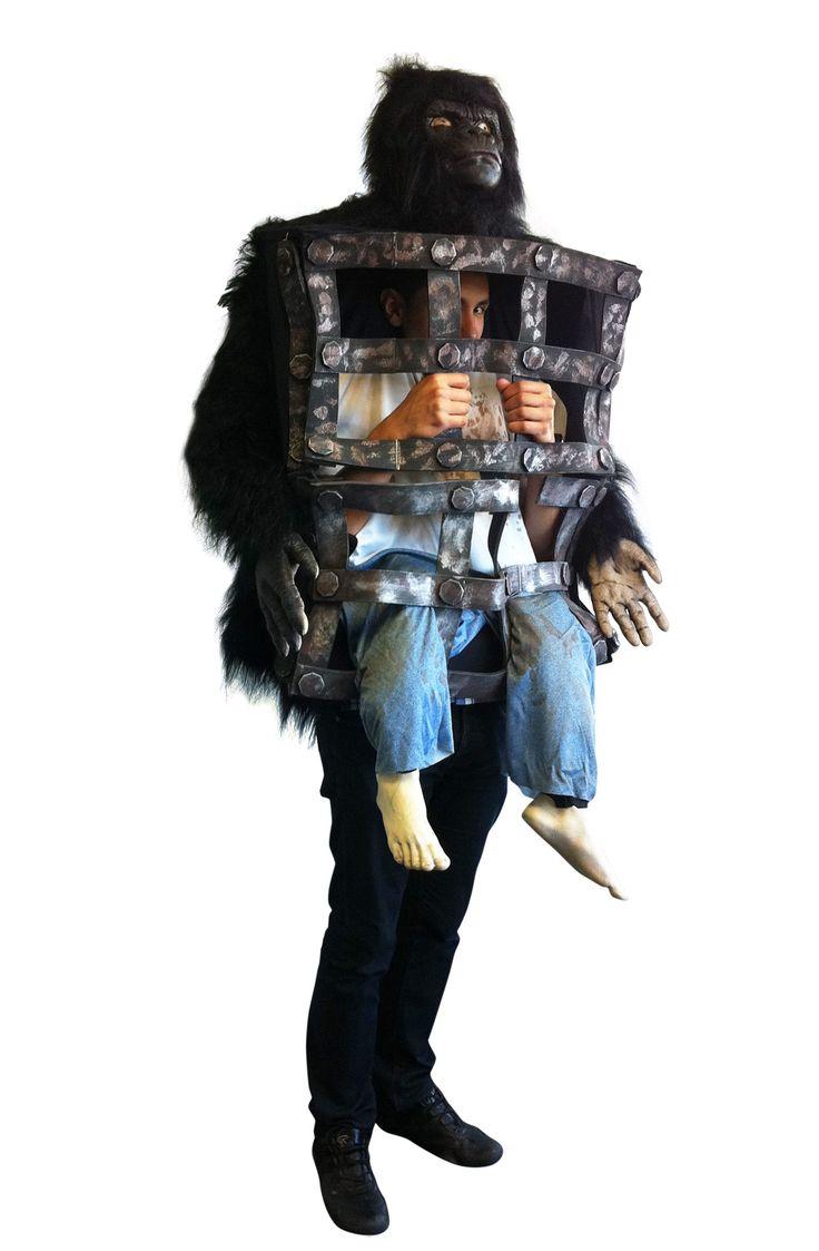 Costume gorilla con uomo in gabbia e centinaia di altri costumi Halloween uomo a partire da 9.99€! Costumi di Halloween per uomini di tutti i tipi e per tutte le taglie. Diavolo, Vampiro, Zombie e tutte le licenze ufficiali dei film Horror!