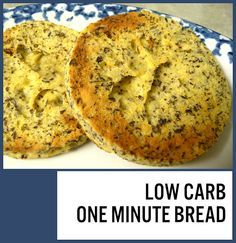 This is pretty awesome!  When I mixed it up and after I nuked it, it looked like it was just going to be eggy.  But this actually has a surprisingly bread-like texture.  Much more so than the flax bun I did before.  So this is now my go-to low carb bread  :)  I used this one to replace an English muffin in eggs Benedict.  Perfect!  (Picture by me, linked to original recipe)