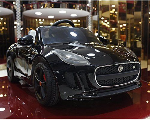 Jaguar F-TYPE 12V Kids Ride On Battery Powered Wheels Car with 2.4GHz RC Remote, Black - https://www.bestofchristmastoys.com/jaguar-f-type-12v-kids-ride-on-battery-powered-wheels-car-with-2-4ghz-rc-remote-black/ #rccars
