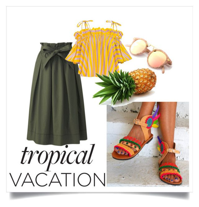 Dare to be different by mavourneen on Polyvore featuring polyvore fashion style Uniqlo clothing Summer