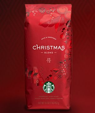 Starbucks® Christmas Blend -- I buy this in bulk during the holidays so that I can enjoy it year round.