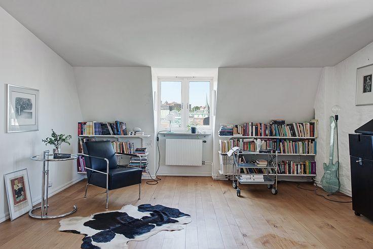 I dag ett bibliotek - kanske ännu ett sovrum?