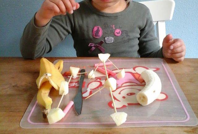 alles-vanellis: knutselen met fruit, bouwpakket