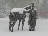 President Abraham Lincoln Tried To Rescue 6 Horses On February 10, 1863 When The White House Stables Caught Fire