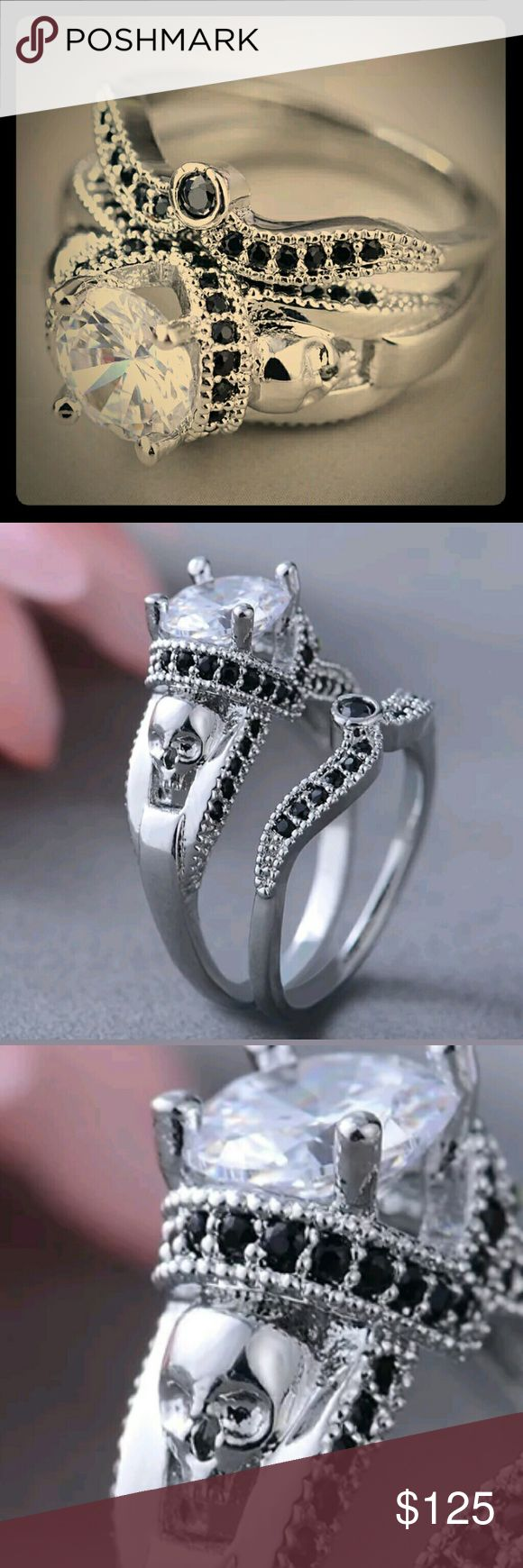 Best Skull Wedding Ring Ideas Only On Pinterest Mens Skull