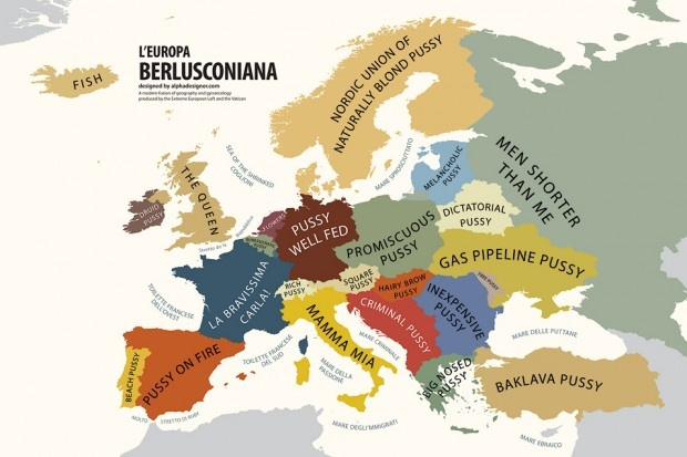 Europe According To Berlusconi