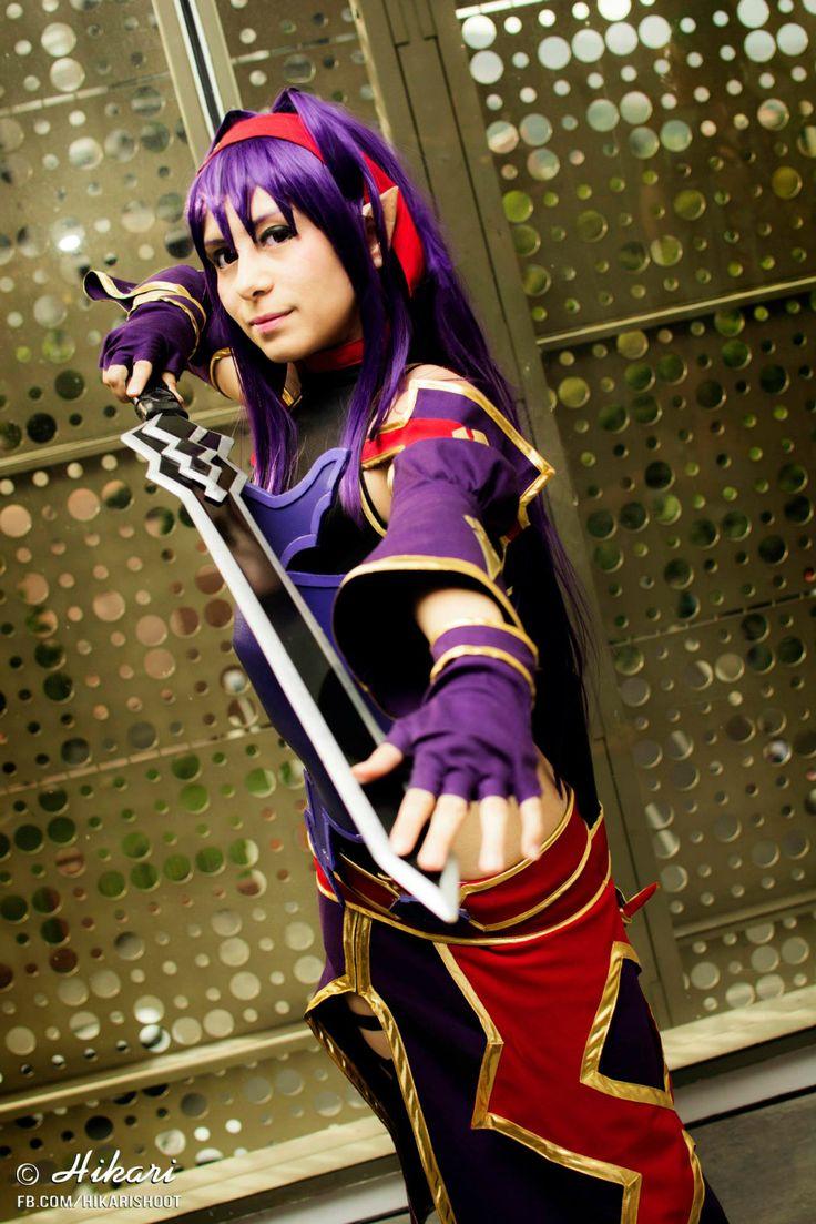 Yuuki Konno (Sword Art Online II) Cosplay by Deruri