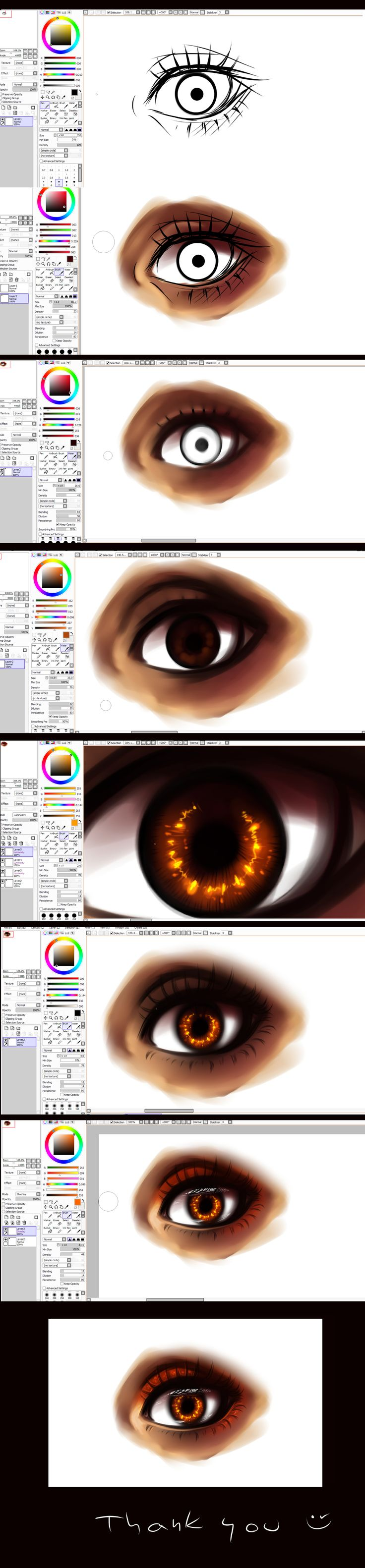 96 best tutorials paint tool sai images on pinterest drawing paint tool sai eye tutorial by rykyiantart on deviantart ccuart Gallery