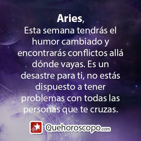 #Horoscopo #Aries #Amor #Trabajo #Astros #Predicciones #Futuro #Horoscope #Astrology #Love #Jobs #Astrology #Future   http://www.quehoroscopo.com/horoscopodehoy/aries.html