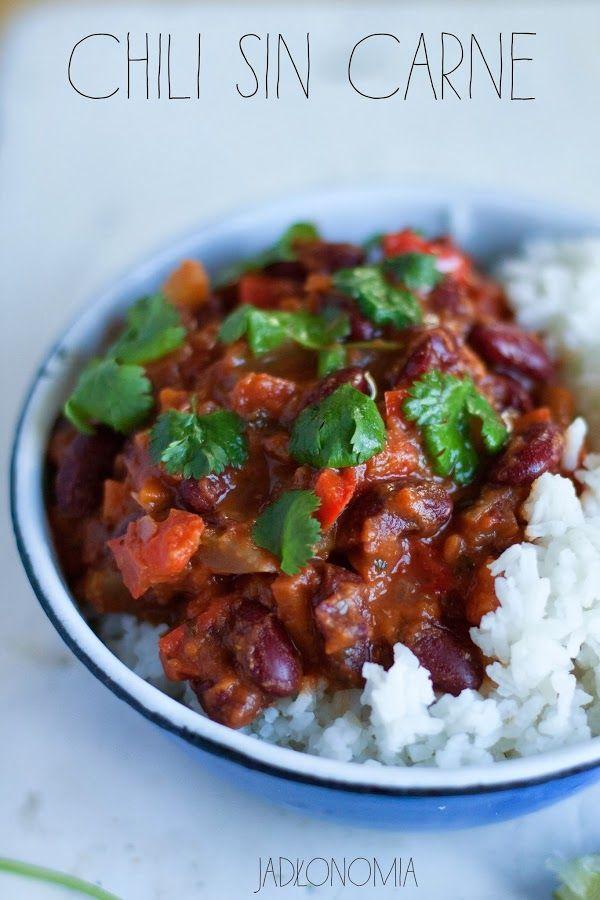 jadłonomia · roślinne przepisy: Chili sin carne