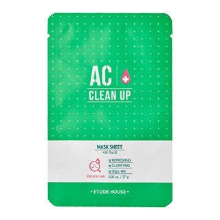 [Etude House] AC Clean Up Mask Sheet (3PCS)