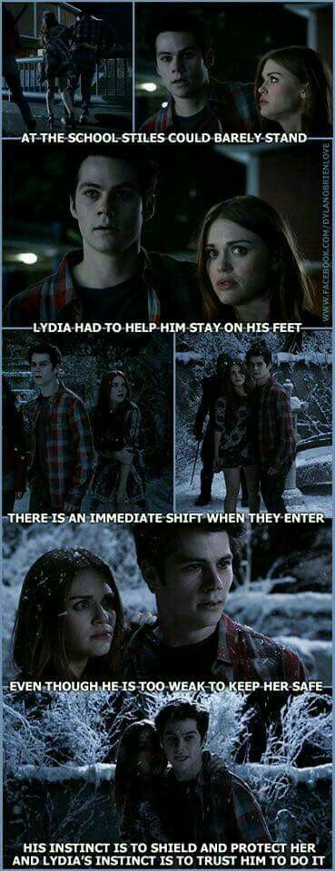 Stydia forever ❤️❤️ I never realized this until now and I can't handle this