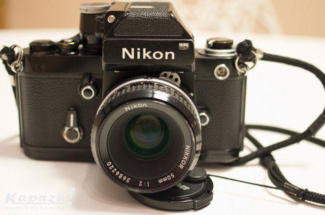 Nikon F2 + nikkor 50mm F:2