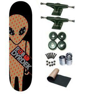 Alien Workshop Dyrdek Gold Foil Soldier 7.75 Skateboard Deck Complete by Alien Workshop. $68.99. 8 - Abec 3 Bearings. 2 - Frontage Trucks. Brand New Alien Workshop Skateboard Complete 7.75 x 31.5. 4 - Yellow Jacket Blank Wheels 53mm. 1 set - Skateboard Hardware & 1 - Black Randel Grip Tape. Brand New, Top Quality Alien Workshop Skateboard Complete