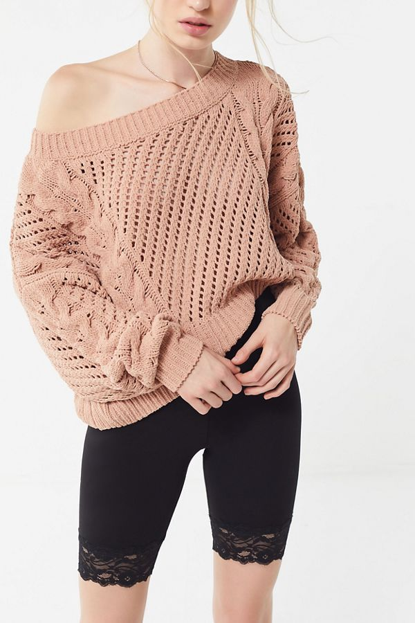 45d9445f4 UO Rosie Oversized Plush Knit Sweater in 2019 | Clothes | Sweaters ...