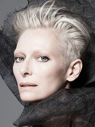 The accomplished and stunning Tilda Swinton is the new face of NARS cosmetics