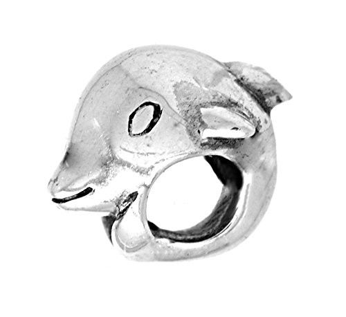 """Persona Sterling Silver """"Dolphin"""" Charm H12063P1"""