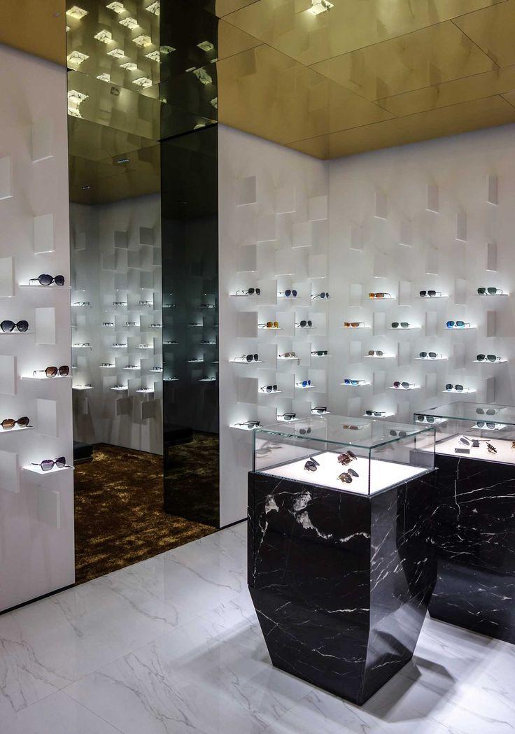Bolon Eyewear Flagship Store by Ippolito Fleitz | Yellowtrace