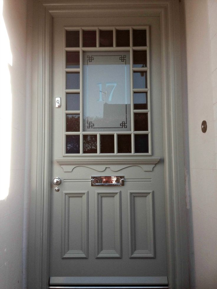 1930s door in the \