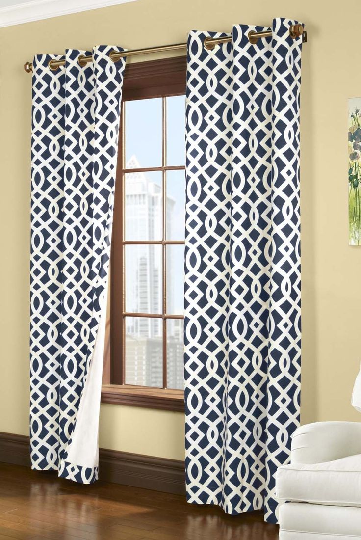 Navy And White Curtains The 25 Best Navy And White Curtains Ideas On Pinterest