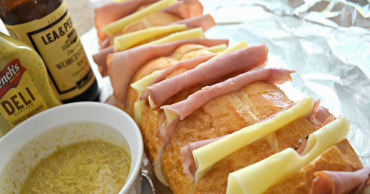 If you love ham and cheese sandwiches, try these delicious Grilled Ham and Cheese Pull-Apart Sandwiches that can also be easily compiled and toasted while camping!