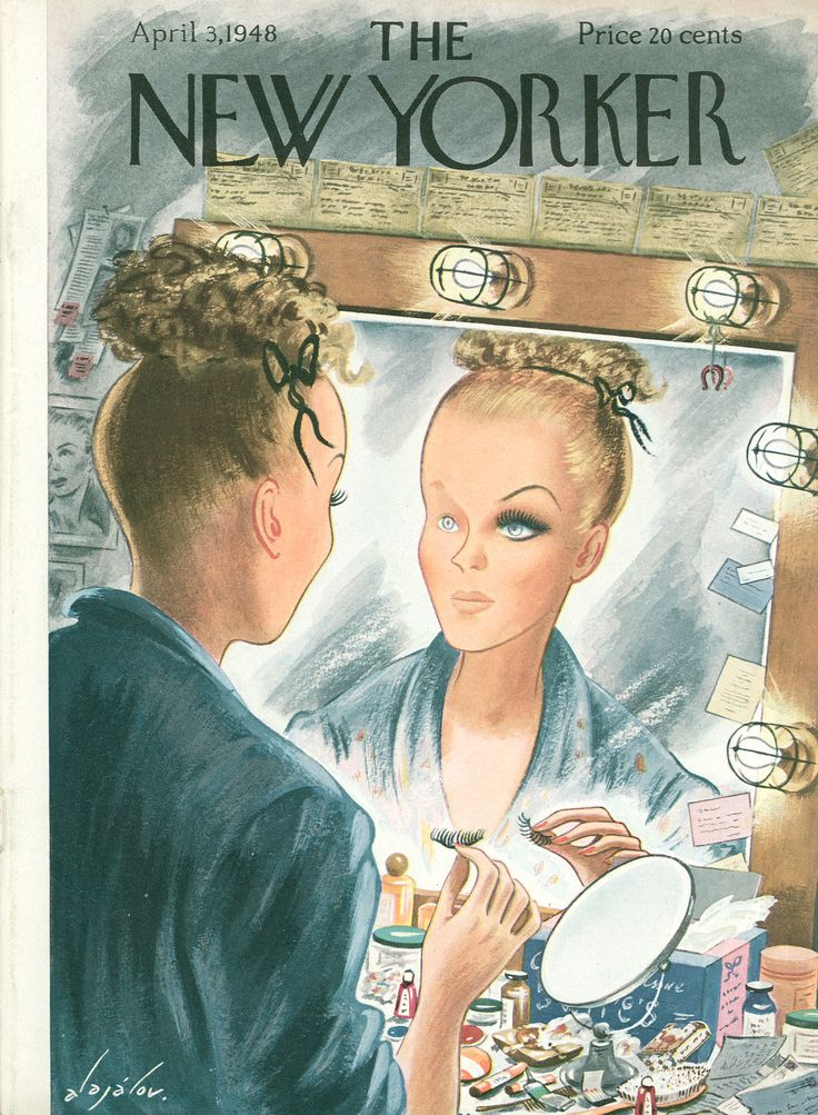 The New Yorker - Saturday, April 3, 1948 - Issue # 1207 - Vol. 24 - N° 6 - Cover by : Constantin Alajalov