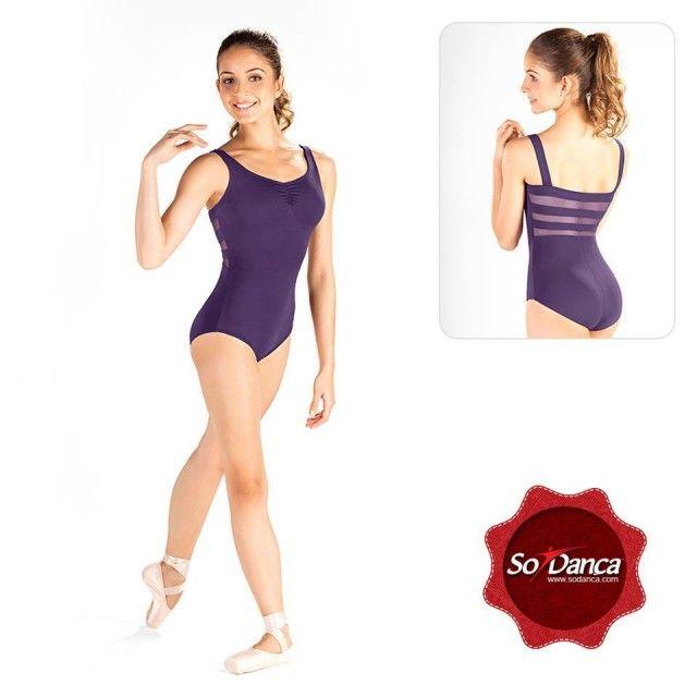 Collant Para Ballet com detalhe em Tule nas costas