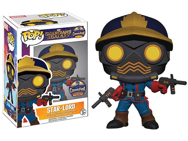 Pop Marvel Guardians of the Galaxy Star Lord Vinyl Figure Funko