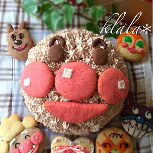 頼まれたケーキ 中はチョコレートムース。 ドキンちゃん…撃沈 - 227件のもぐもぐ - 頼まれもの5歳女の子のバースデーケーキ by klala
