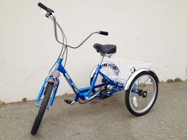 Three Wheel Bikes For Adults 20 Quot Miami Sun Deluxe 3