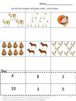 148 best farm animals math images on pinterest. Black Bedroom Furniture Sets. Home Design Ideas